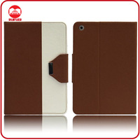 Fashion 2 Colors Hybrid Pouch Stand With Card Slots Leather Case for 8 Inch Tablet PC