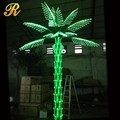 Lighted coconut palm tree for indoor outdoor decoration
