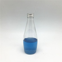 300ml soft drinks glass bottle soda water bottle with screwing top