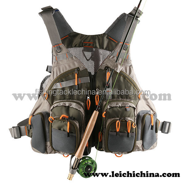 In stock top quality fly fishing vest pack