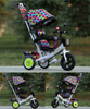 3 wheel tricycle from china manufacture sales ride on toys stroller baby tricycle