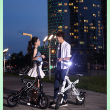 CE Small Folding Electric Bicycle Panasonic Foldable eletric bicycle folding electric bike