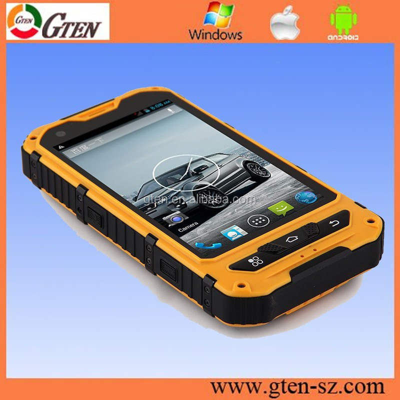 Super waterproof industrial use dustproof shockproof mobile phone smartphone waterproof IP68 top quality rugged mobile a8