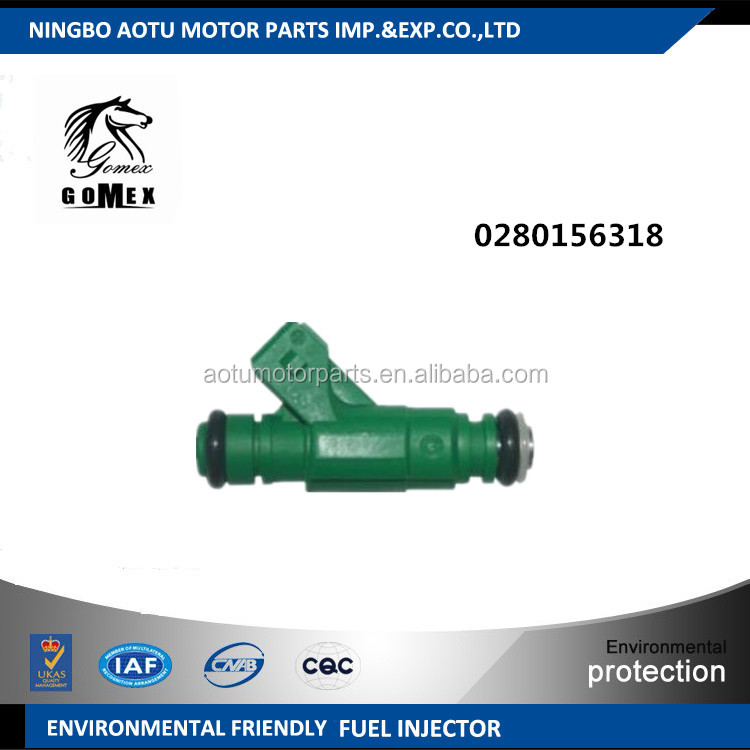Fuel injector nozzle , Fuel injector 0280156318 for Peugeot 206 peugeot 307
