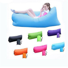 Comfortable Durable waterproof easy to carry lazy sleeping bad laybag giant inflatable sofa