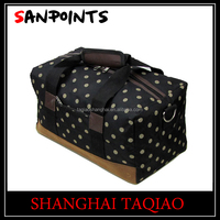 Fashion 600D polyester small toiletries travel bag