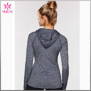 (OEM factory) Cheap Wholesale Polyester Spandex Woman Workout Training Sports Jacket for Women