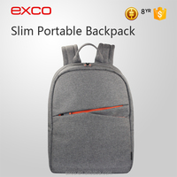 EXCO Ergonomics Nylon new fashion design waterproof laptop bag back pack for 15 laptops