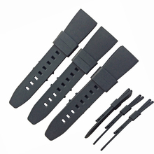 24mm silicone rubber watch strap bands wholesale