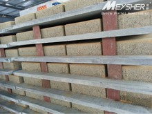 stacking collapsible folded steel wire mesh pallet cage with