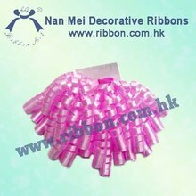 Pink Cute for Decoration Curling Ribbon Bow
