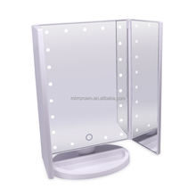 Fast Delivery Usb Cable touch pro makeup mirror with led lights