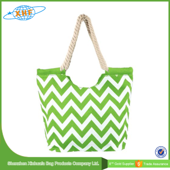 cotton canvas wholesale beach tote bag