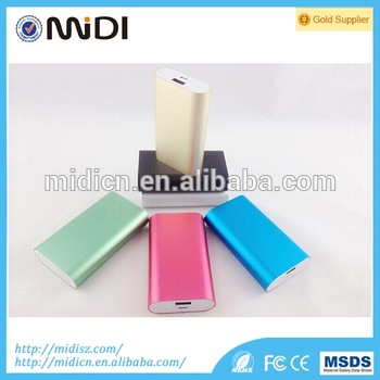 Shenzhen factory power bank 5200mah/ mobile phone 5200mah power bank