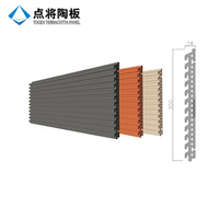 Customized-shape terracotta facade panel with factory price