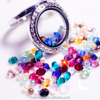 $0.01 only! 4mm round birthstones
