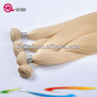"2013 8'~32"" Wholesale 100% Top 5 White Human Hair Yaki"