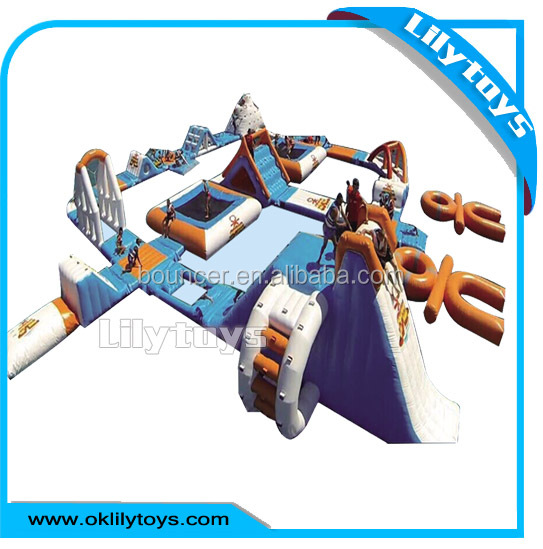 Giant Inflatable Aqua Park, Adult Inflatable Water Playground for Sale