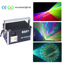 Mini 4w RGB laser 3D animation scanner projector ILDA DMX dance bar Xmas Party Disco DJ effect Light stage Lights Show system