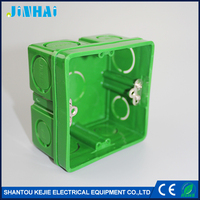 Flush Mounting Electrical ABS Junction Box