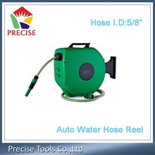 Wall-mounted Retractable Auto Rewinding Water Hose Reel