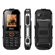 E&L K6900 Original Rugged Phone Keyboard IP68 Waterproof Shockproof Big Flashlight Push-button 2G GSM Unlocked Cheap China Phone