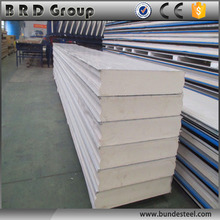 Cheap price cold room/cold storage pu sandwich panel(50mm-200mm)