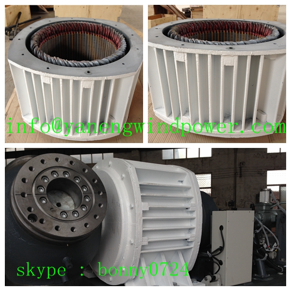 20kw wind generator motors for sale electric Pitch control low rpm Permanent magnet generator