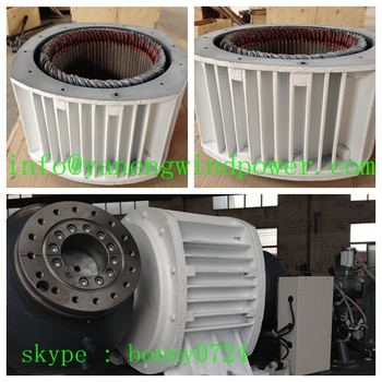 20kw wind generator motors for sale electric pitch control for Magnetic motor electric generator for sale