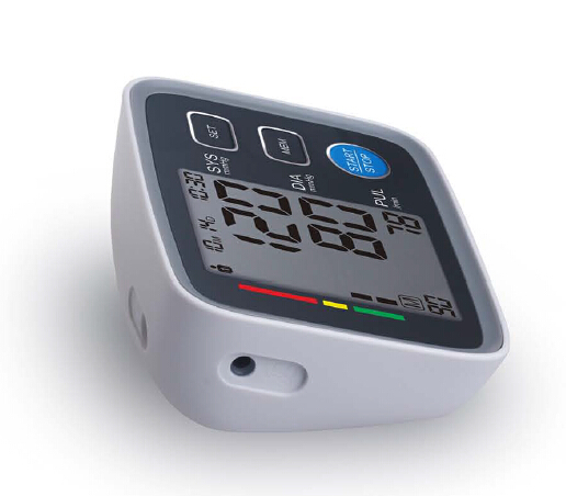 extra large LCD screen display upper arm blood pressure monitor