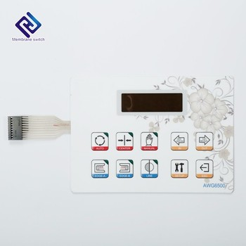 Flat Keys Touch Screen Membrane Switch Panel Membrane Keypad/Keyboard