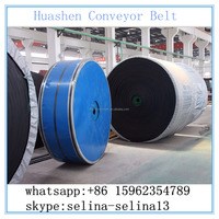 Impact resistant fabric 2layers 1200width 5+3 covers EP400 conveyor belt system parts