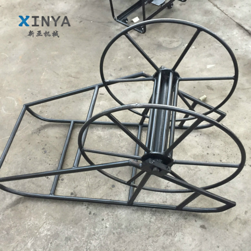 High quality wire rope reel stand for supporting cable rope reel