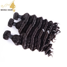 Top celebrity hair style wavy hair natural wave 6A grade double weft free sample Vietnamese hair extension in dubai