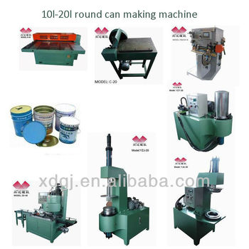 complete chemical can making production line