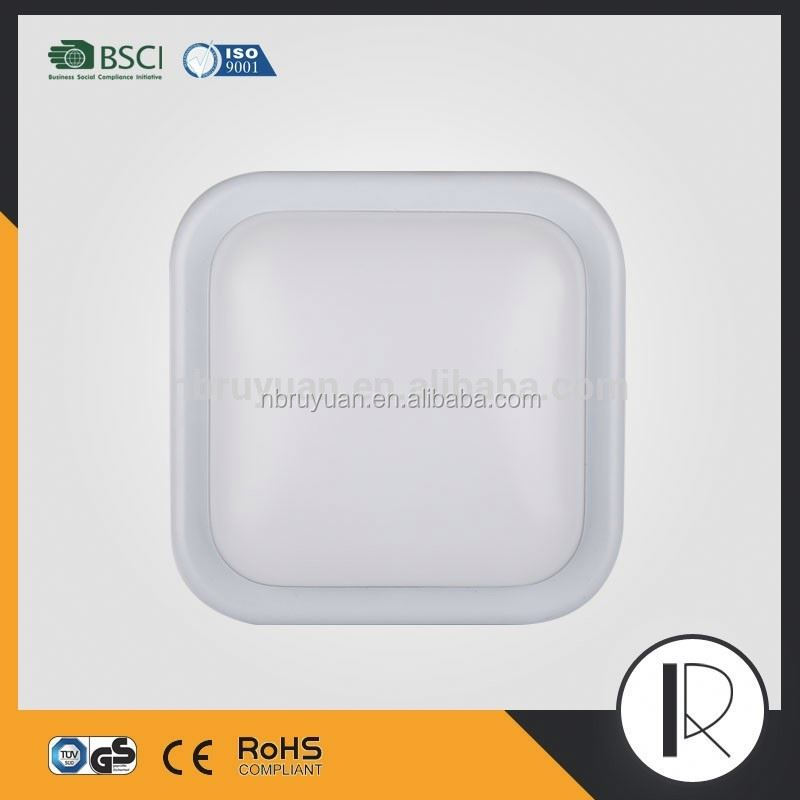 0606B003 Wholesale gs ce ip44 square plastic bathroom ceiling light covers