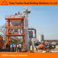 Asphalt Mixing Plant 64t/h working in Indonesia
