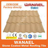 Classical Gazbo roof/stone coated eagle roof tile/heat insulation galvalume roof tile