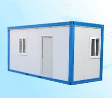 heat insulated mobile living two story fireproof cheap container house for sale