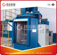 Q37 Hook Type Shot Blasting Machine Price For Rust Removal