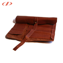 Roll up School Custom large pencil case leather pencil case box