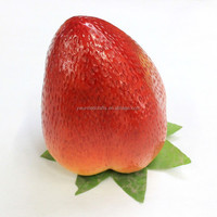 Giant size High quality artificial fruit foam Strawberry for decoration