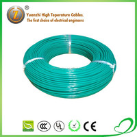 High quality water resistant silicone rubber insulated power cable