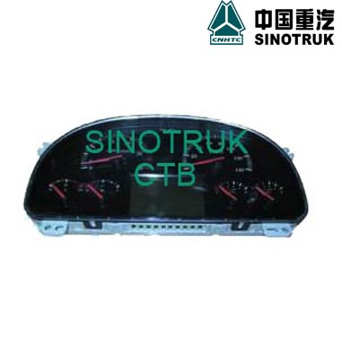 China Truck Spare Part Combinatory Electrical Dashboard