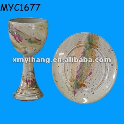 Chalice and paten set Communion Products