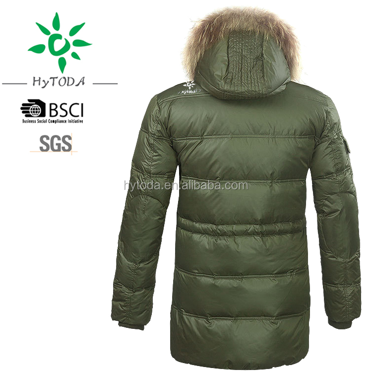 Winter goose padding jacket with detachable heavy down jacket men