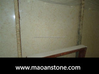 Polished Natural Sunny Beige Marble Light/Bathrom Sinks/Wall Flooring Tiles