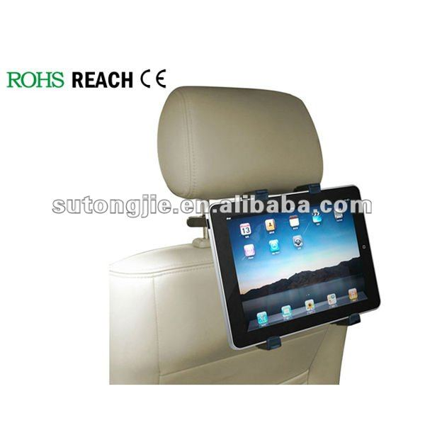 Universal tablet car headrest mount/Universal bracket for tablet pc