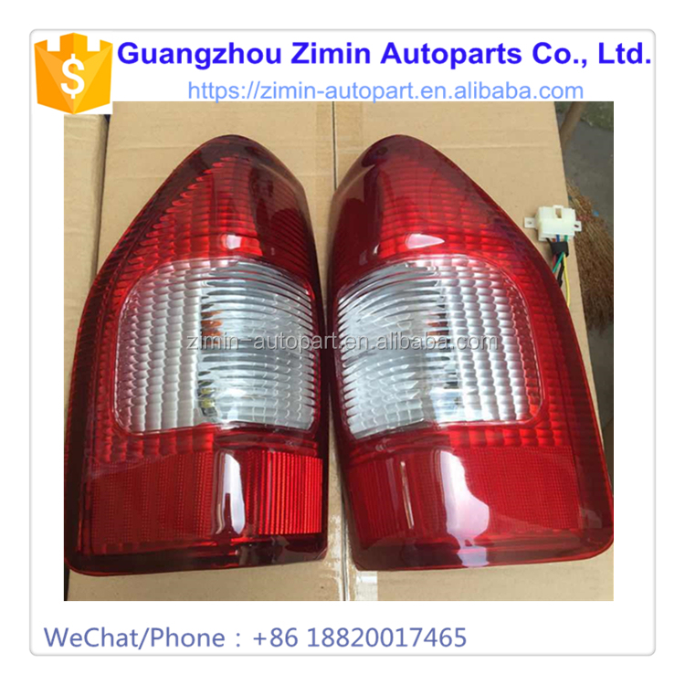 Aftermarket Modified ABS Plastic Tail Lamp Rear Light For D-MAX 2002 - 2005 TAIL LAMP