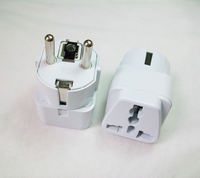 Young Portable Universal Travel Adapter US AU UK to EU Germany Plug Travel Wall AC Power Adapter 250V 16A Socket Converter